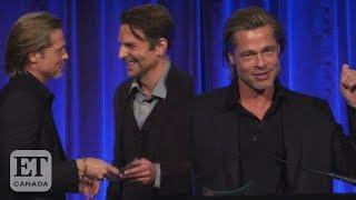"""Bradley Cooper in het zonnetje gezet door Brad Pitt: """"Door jou ben ik nuchter"""""""