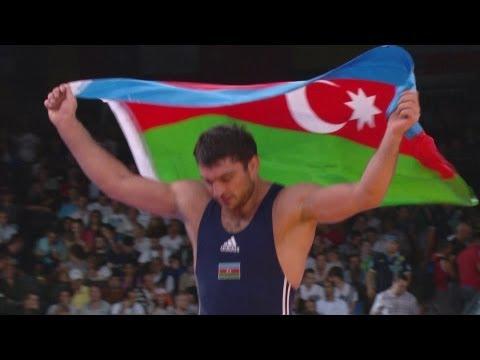 Sharif Sharifov Wins Freestyle Wrestling 84kg Gold - London 2012 Olympics