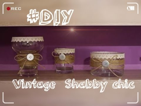 diy deko ideen vintage shabby chic youtube. Black Bedroom Furniture Sets. Home Design Ideas
