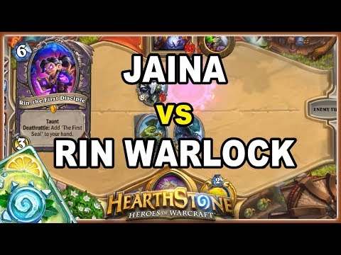 Hearthstone: JAINA vs RIN WARLOCK