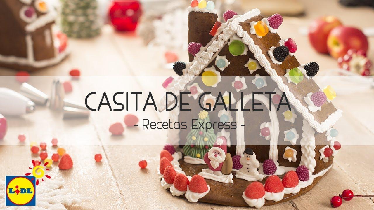 Casita de Galleta - Recetas Navidad - YouTube