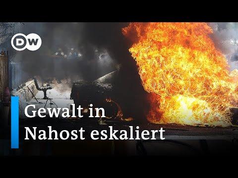 Raketen und Luftangriffe im Konflikt zwischen Israel und Palästinensern | DW Nachrichten