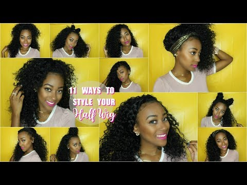 11 Ways To Style Your Half Wig | Sensationnel Kingston. PENNY DUPE?!