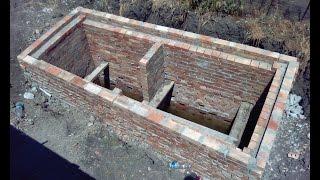 Сливная яма в частном доме(Строительство ямы при близких грунтовых водах, все пояснения в аннотациях., 2015-02-13T12:10:38.000Z)