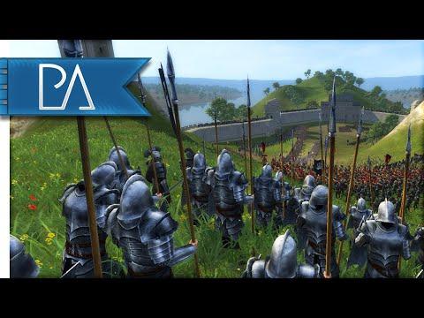 ISENGARD SIEGE DEFENSE - Third Age Total War Gameplay