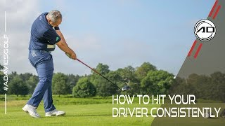 How To Hit Your Driver Consistently