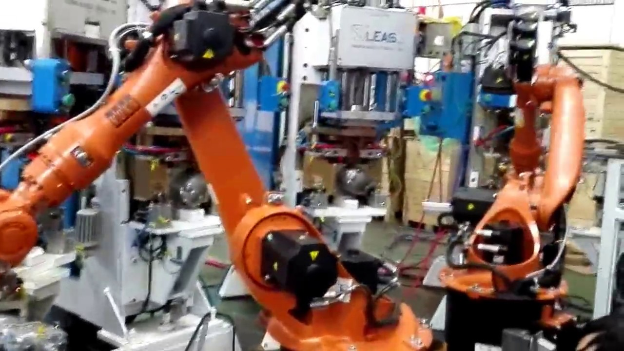 compresor-cell welding machines made in Italy being transformed to ...