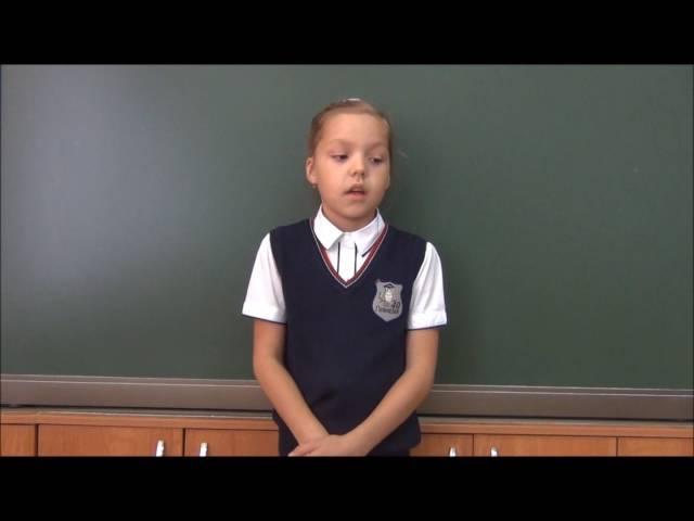 София Твердохлебова читает произведение «Вечер» (Бунин Иван Алексеевич)