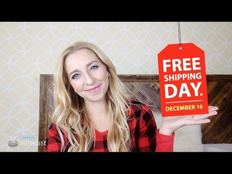 FREE National Shipping Day! (MUST WATCH 12/16/16!)