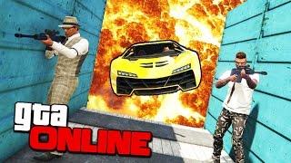 ПРИБЕЙ МЕНЯ ЕСЛИ СМОЖЕШЬ В GTA 5 ONLINE ( УГАР )