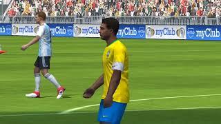 FIFA World Cup Russia 2018 | Brazil vs Argentina Pes 18