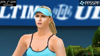Smash Court Tennis 3 - PSP Gameplay 1080p (PPSSPP)