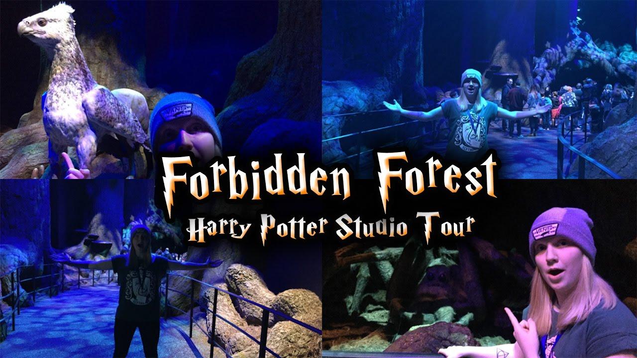 forbidden forest expansion harry potter wb studio tour youtube. Black Bedroom Furniture Sets. Home Design Ideas