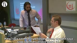 Hamza Tzortzis Sergah Profesor Ateis Penipu