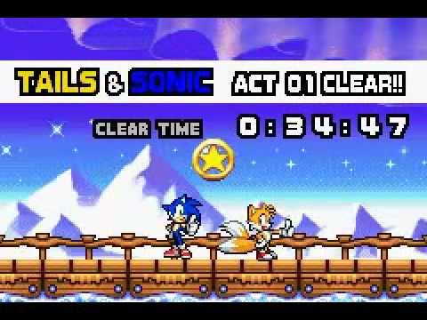 Sonic advance neo green hill zone sprites