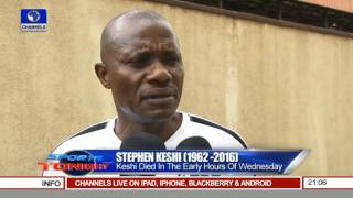 Sports Tonight: Tributes To Stephen Keshi (1962-2016) Pt 1