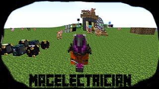 Minecraft: Modpack - Magelectrician Base tour - Cake Factory