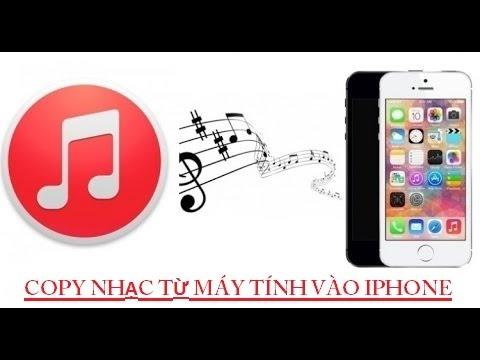 Cách đưa Nhạc Từ Máy Tính Vào IPhone Bằng ITunes 12.4