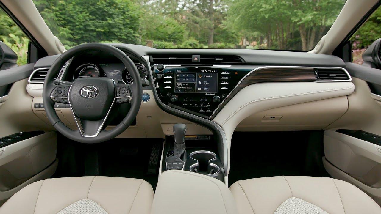 Toyota Avalon Review >> 2018 Toyota Camry XLE Hybrid - Interior (US Spec) - YouTube