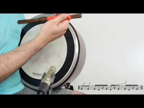 Contemporary Bodhrán Lessons: Swung Funk