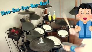 【水瀬いのり】Shoo-Bee-Doo-Wap-Wap!【Drum Cover】