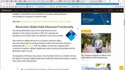 Blockchain Wallet Adds the Ability to Exchange and Store Ethereum