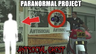ANTISOCIAL GHOST CAUGHT WITH A FLYING MOTORBIKE! GTA San Andreas Myths - PARANORMAL PROJECT 88