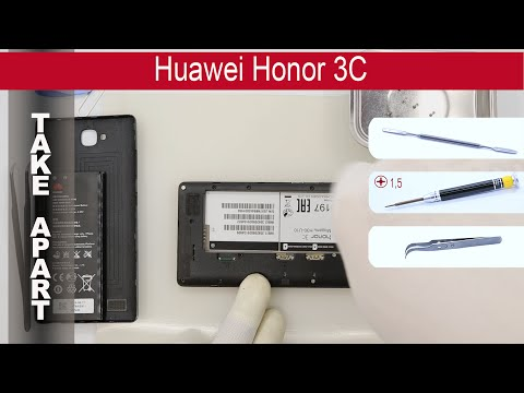 How To Disassemble 📱 Huawei Honor 3C Take Apart, Tutorial