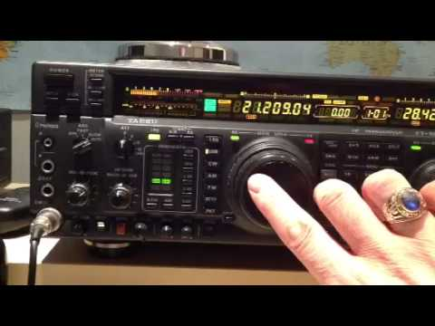 Listening to contest stations on 15m using Yaesu FT-1000MP