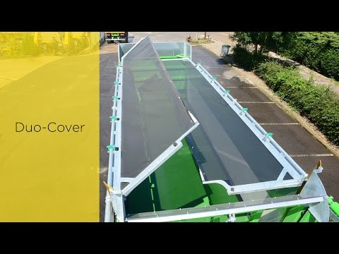 New covering system for JOSKIN silage trailer: Duo-Cover system