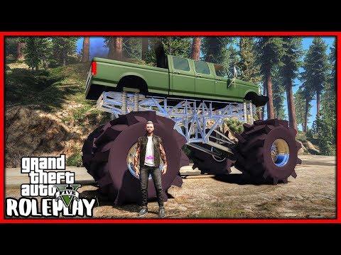 GTA 5 Roleplay - LIFTED MEGA TRUCK | RedlineRP #704