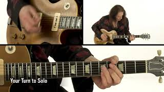 Robben Ford Blues Guitar Lesson - Bo Diddley Squat: Let's Trade Solos