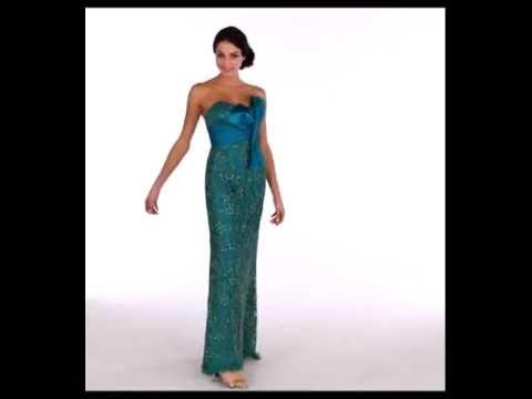 7006 Corsagenkleid Abendkleid Ballkleid Abiballkleid Abschlussballkleid nachtigallundlerche.flv