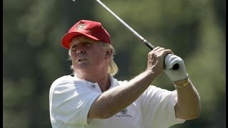 Trump Endlessly Berated Obama For Golfing, Can't Stop Golfing