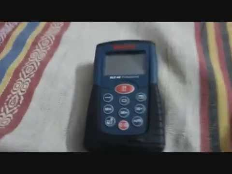 Bosch Entfernungsmesser Dle 40 : Bosch dle rangefinder laser distance measurer visual usage