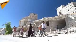 La triste vuelta a casa de los vecinos de Alepo