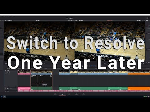 Switching from Premiere to Resolve One Year Later