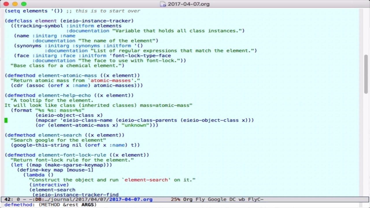 Object oriented font lock in emacs youtube object oriented font lock in emacs biocorpaavc