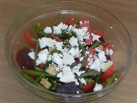 green-beans-&-beetroot-salad---vegetarian-and-vegan-version---rote-beete-salat