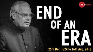 Former PM Atal Bihari Vajpayee to be cremated today