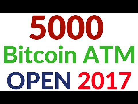 Great Good News Bitcoin Users Open 5,000 Bitcoin ATMs In Europe In 2017