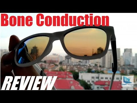 f984b8f362 REVIEW  VocalSkull Bone Conduction Headphone Sunglasses - YouTube