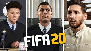USING REAL PLAYERS AS MANAGERS!!! FIFA 20 Career Mode