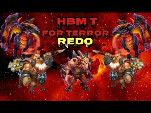 Castle Clash HBM T For Terror REDO!