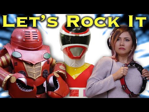 Let's Rock It - feat. Yeng Constantino [FAN FILM] Power Rangers | Super Sentai