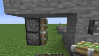 Minecraft : Otomatik Şifreli Kapı Yapımı
