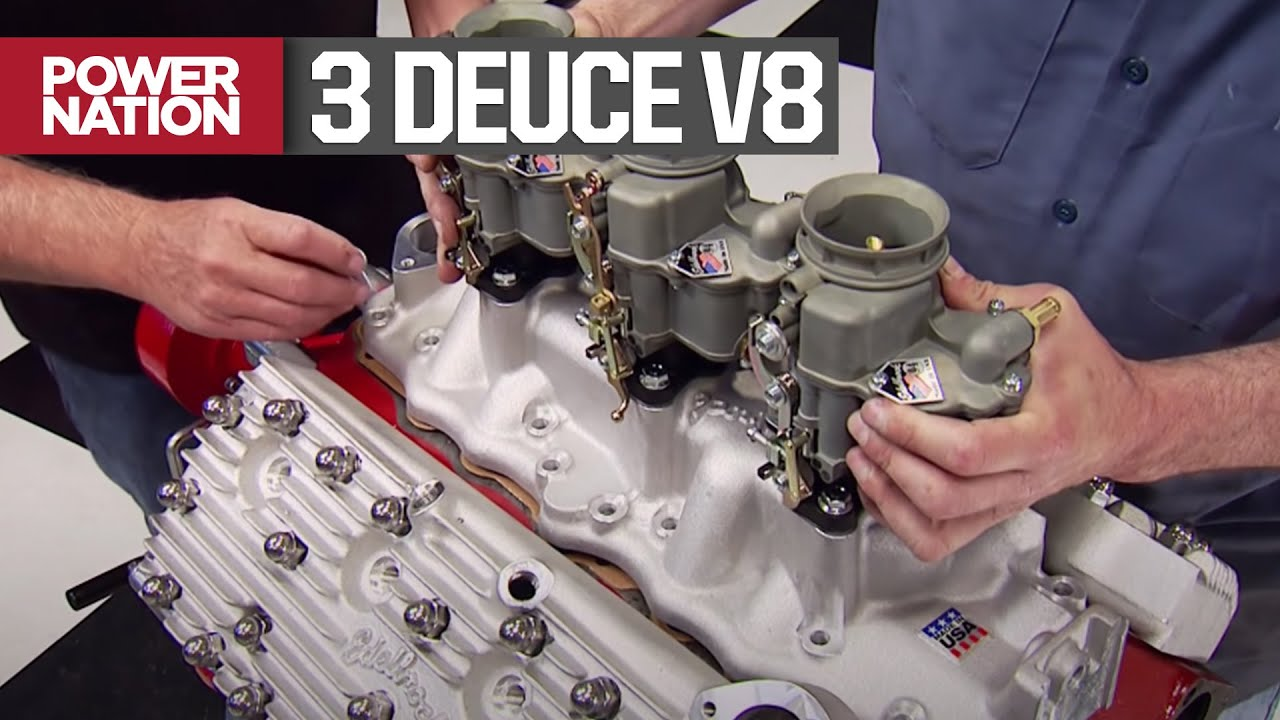 Ford Flathead Gets A Race Cam And Tri-Powered Intake Setup - Engine Power S1, E14