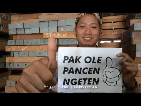 FAREWELL MR.OLE From PT.Barlow Indonesia
