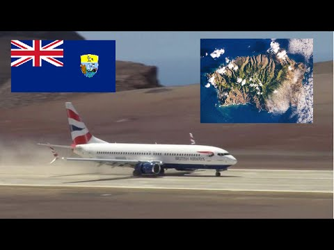 St Helena Airport Opens