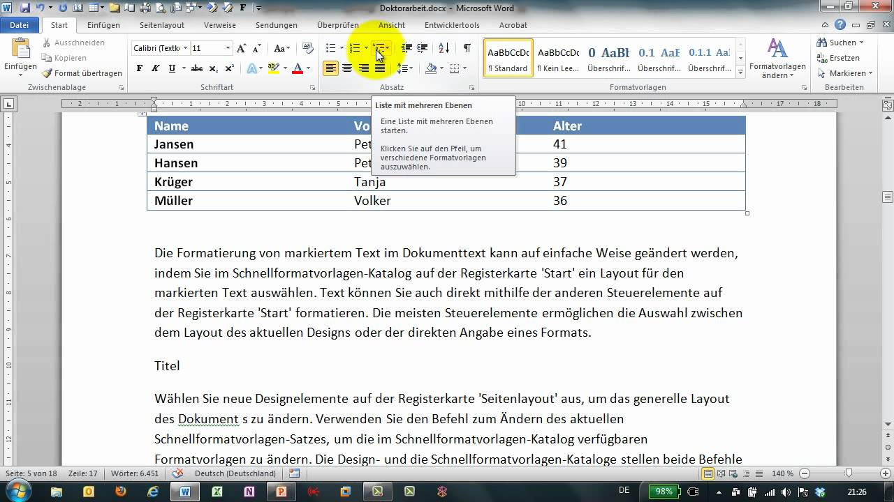 querverweis stream